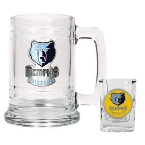 Memphis Grizzlies Boilermaker Set