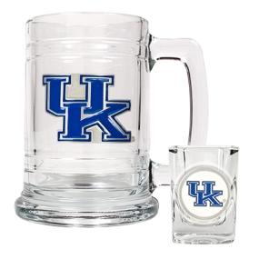 Kentucky Wildcats Boilermaker Set