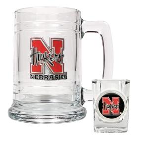 Nebraska Cornhuskers Boilermaker Set