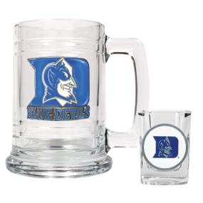 Duke Blue Devils Boilermaker Set