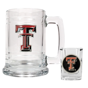 Texas Tech Red Raiders Boilermaker Set