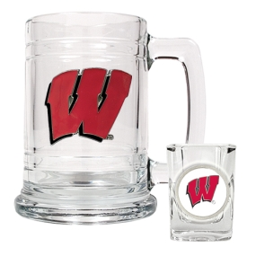 Wisconsin Badgers Boilermaker Set