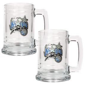 Orlando Magic 2pc 15oz Glass Tankard Set