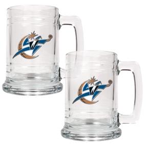 Washington Wizards 2pc 15oz Glass Tankard Set