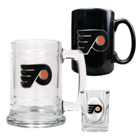 Philadelphia Flyers 15oz Tankard, 15oz Ceramic Mug & 2oz Shot Glass Set