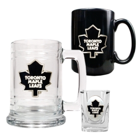 Toronto Maple Leafs 15oz Tankard, 15oz Ceramic Mug & 2oz Shot Glass Set