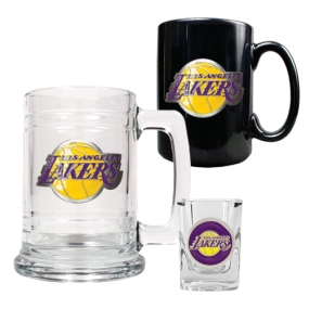 Los Angeles Lakers 15oz Tankard, 15oz Ceramic Mug & 2oz Shot Glass Set