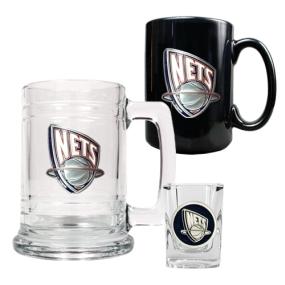 New Orleans Hornets 15oz Tankard, 15oz Ceramic Mug & 2oz Shot Glass Set