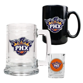 Phoenix Suns 15oz Tankard, 15oz Ceramic Mug & 2oz Shot Glass Set