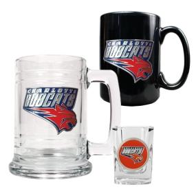 Charlotte Bobcats 15oz Tankard, 15oz Ceramic Mug & 2oz Shot Glass Set