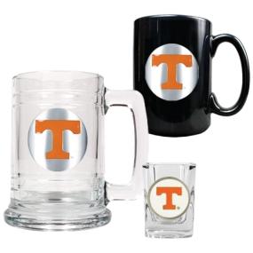 Tennessee Volunteers 15oz Tankard, 15oz Ceramic Mug & 2oz Shot Glass Set