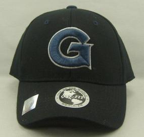 Georgetown Hoyas Black One Fit Hat