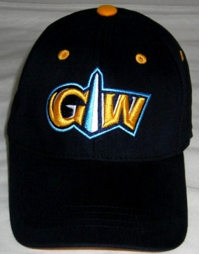 GWU Colonials Youth Team Color One Fit Hat