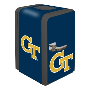 Georgia Tech Yellow Jackets Portable Party Refrigerator