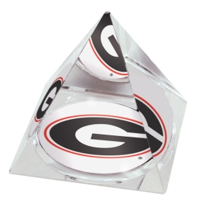 Georgia Bulldogs Crystal Pyramid
