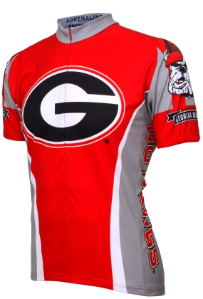 Georgia Bulldogs Cycling Jersey