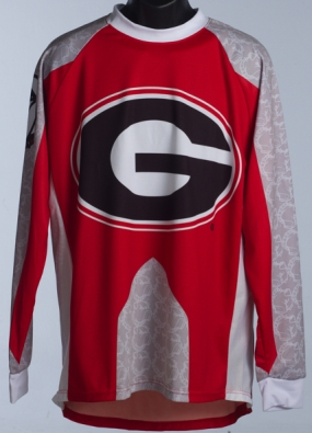 Georgia Bulldogs Mountain Bike Jersey