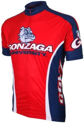 Gonzaga Bulldogs Cycling Jersey