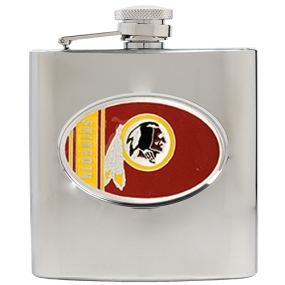 Washington Redskins 6oz Stainless Steel Hip Flask