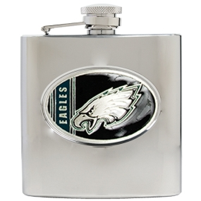 Philadelphia Eagles 6oz Stainless Steel Hip Flask
