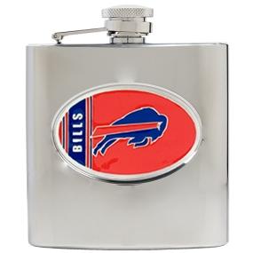 Buffalo Bills 6oz Stainless Steel Hip Flask