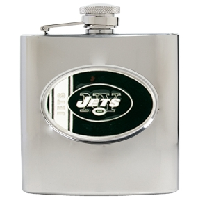 New York Jets 6oz Stainless Steel Hip Flask