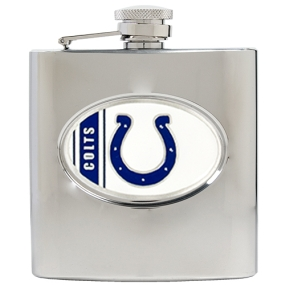 Indianapolis Colts 6oz Stainless Steel Hip Flask