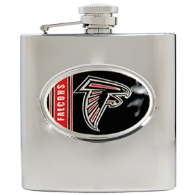 Atlanta Falcons 6oz Stainless Steel Hip Flask