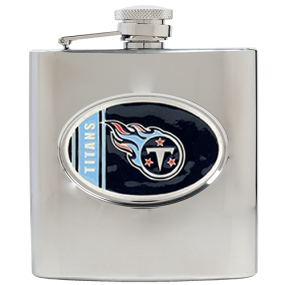 Tennessee Titans 6oz Stainless Steel Hip Flask