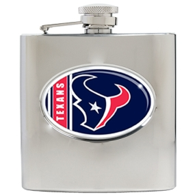Houston Texans 6oz Stainless Steel Hip Flask