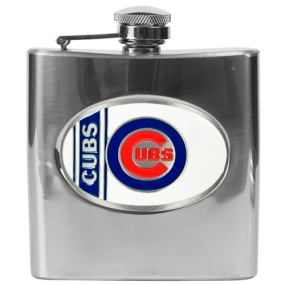 Chicago Cubs 6oz Stainless Steel Flask