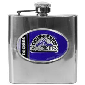 Colorado Rockies 6oz Stainless Steel Flask