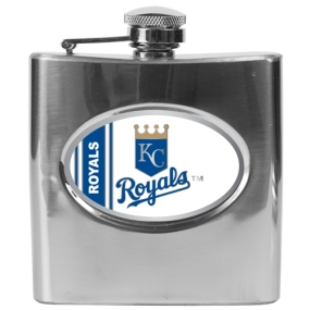 Kansas City Royals 6oz Stainless Steel Flask