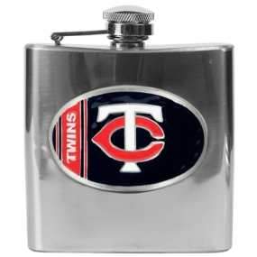 Minnesota Twins 6oz Stainless Steel Flask