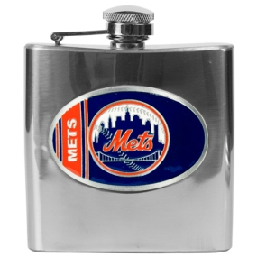 New York Mets 6oz Stainless Steel Flask