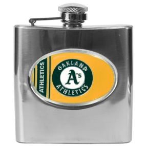 Oakland A's 6oz Stainless Steel Flask