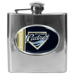 San Diego Padres 6oz Stainless Steel Flask