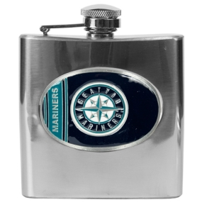 Seattle Mariners 6oz Stainless Steel Flask