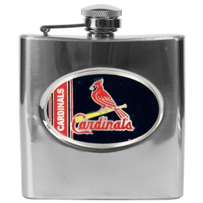 Saint Louis Cardinals 6oz Stainless Steel Flask