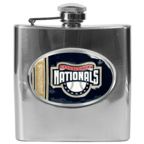 Washington Nationals 6oz Stainless Steel Flask