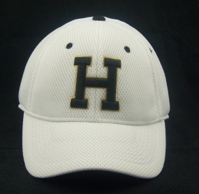 Harding University Bison White Elite One Fit Hat