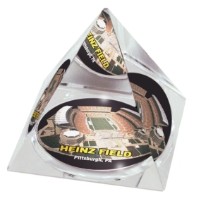 Pittsburgh Steelers Crystal Pyramid