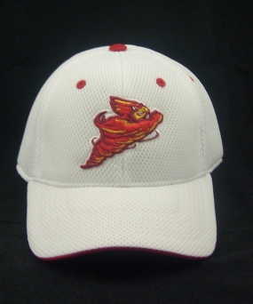 Iowa State Cyclones White Elite One Fit Hat