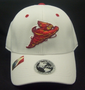 Iowa State Cyclones White One Fit Hat