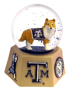 TEXAS A&M MASCOT WATER GLOBE
