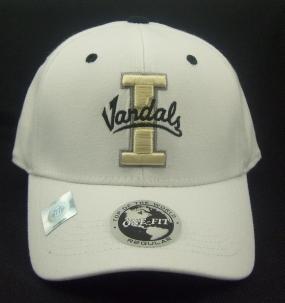 Idaho Vandals White One Fit Hat