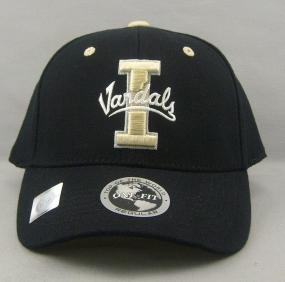 Idaho Vandals Black One Fit Hat