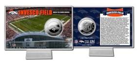 Invesco Field at Mile High Stadium Silver Coin Card