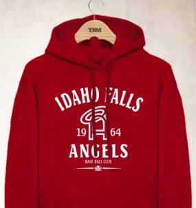 Idaho Falls Angels Clubhouse Vintage Hoody