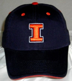 Illinois Fighting Illini Adjustable Crew Hat